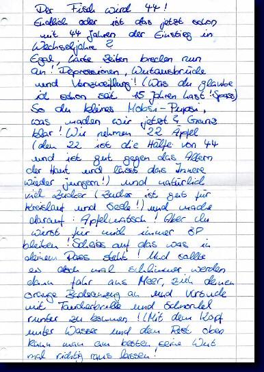 Freundin brief geburtstag eine an zum Geburtstagswünsche Für